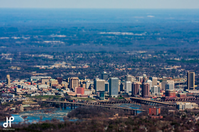 7. The Big Little City of Richmond - from a distance
