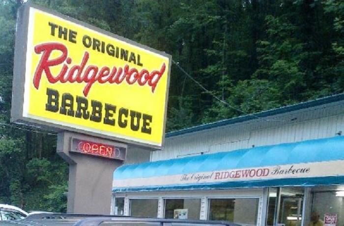 8) Ridgewood Barbeque - Elizabethton