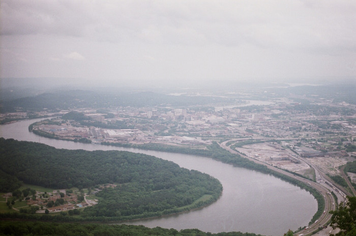 2) What a stunning shot of the Tennessee River!