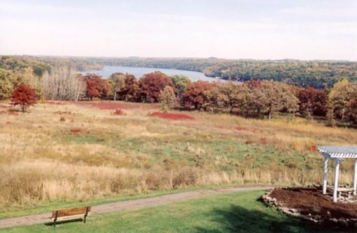 6. Carpenter St. Croix Valley Nature Center offers great views along the river as well as a beautiful apple orchard.
