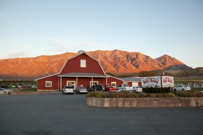 11) Rowley's Red Barn, Santaquin and Washington