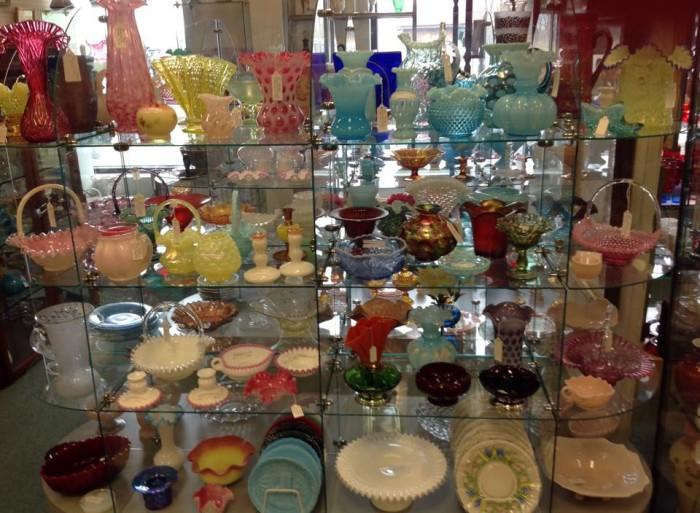 Ruckersville Gallery glassware