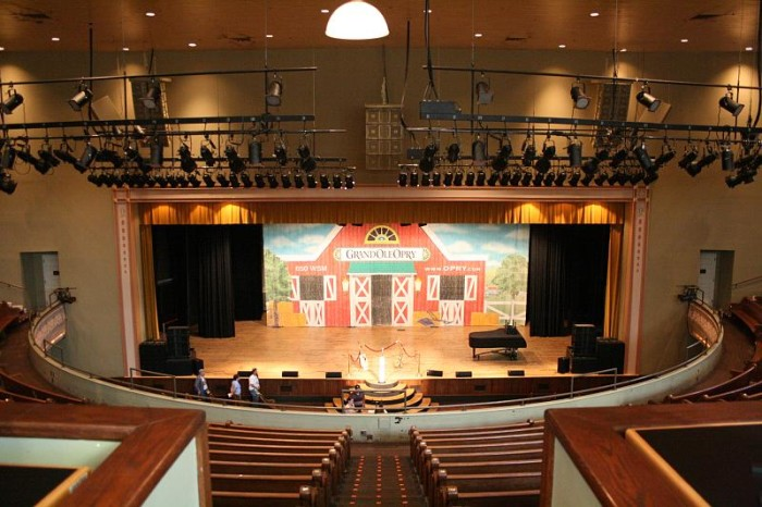 9) Ryman Auditorium: The Mother Church - Nashville