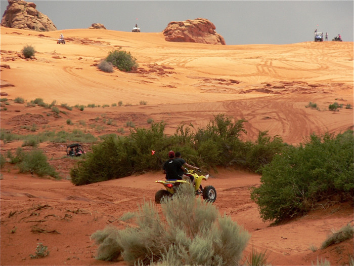11) Ride the dunes at Sand Hollow State Park