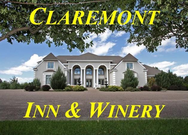 10.) Claremont Inn & Winery (Stratton)