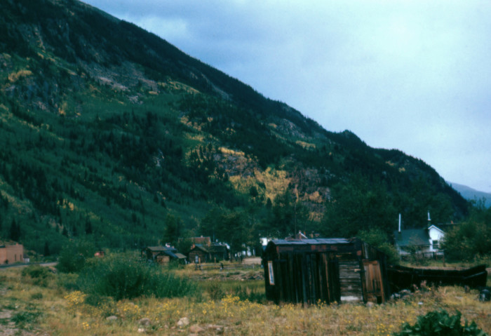 9) Abandoned Sheds and Houses, Near Mammoth