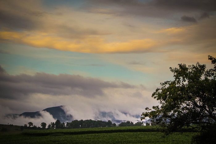 6. Clouds Blanket the Shenandoah Valley, Fairfield