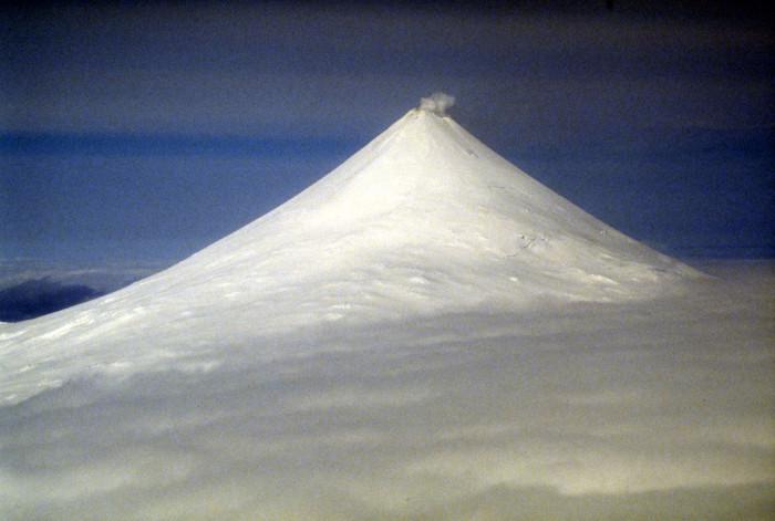 9) Mount Shishaldin