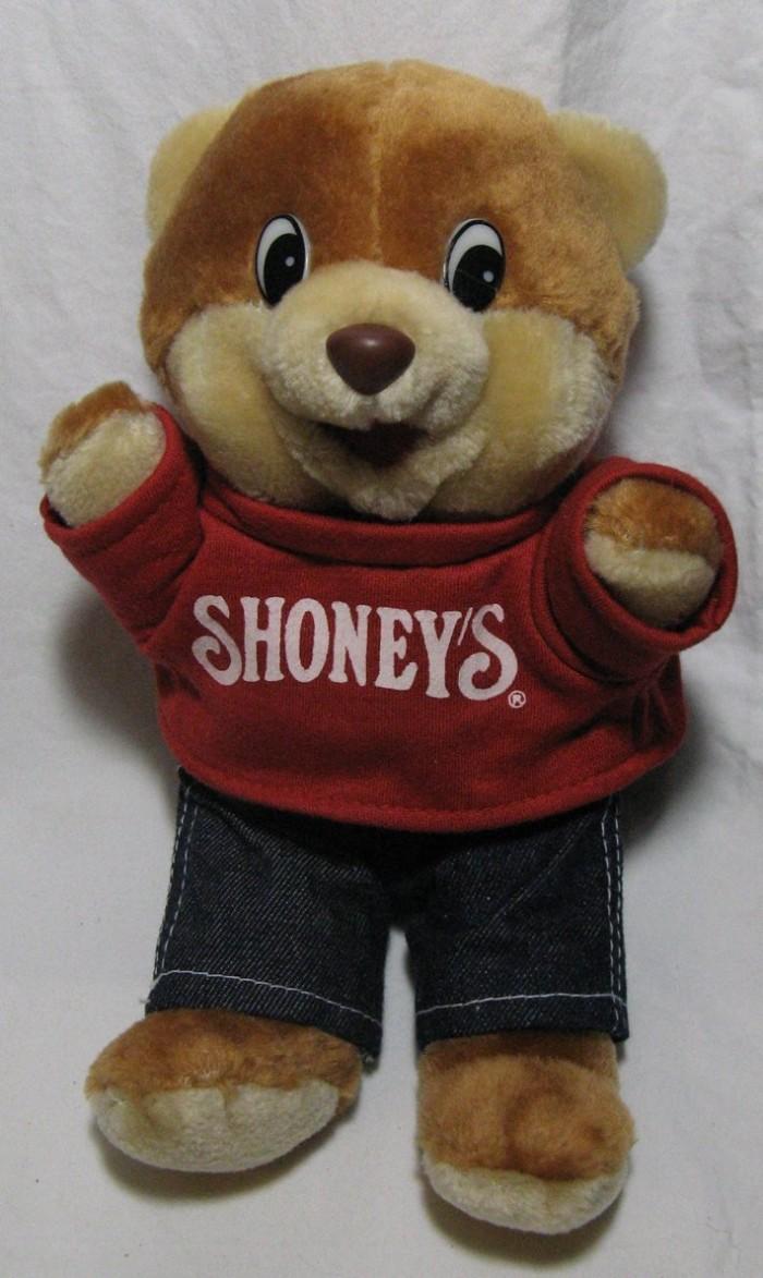 10. Having multiple Shoney's bears.