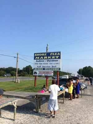 16. Shore Flea Market, Temperanceville