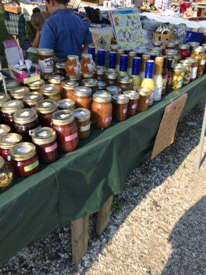 Shore Flea Market vendors