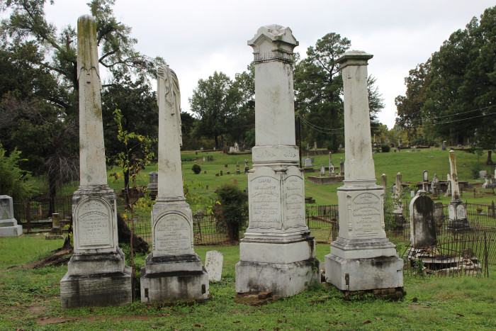 5) Oakland Cemetery, Downtown Shreveport, LA