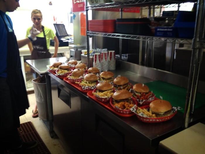 15) Slackers Burgers, Torrey