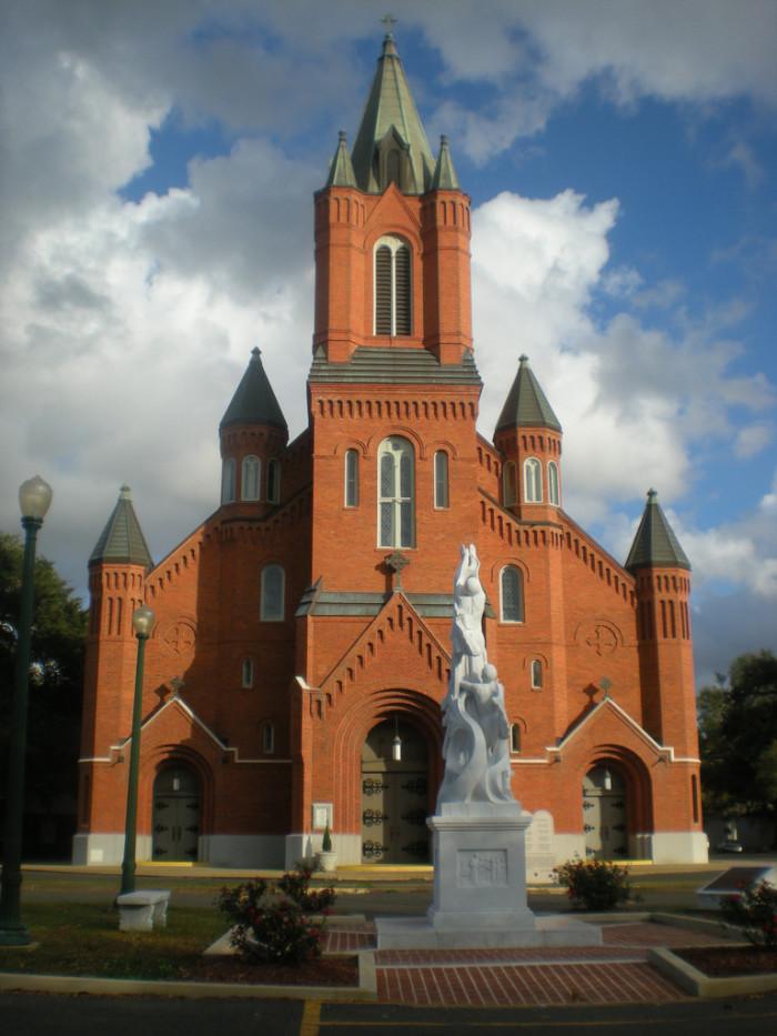 1) St. Landry Catholic Church, Opelousas, LA