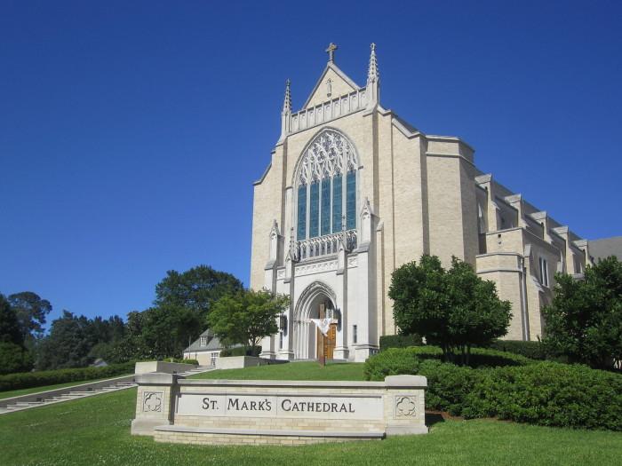 8) St. Mark's Episcopal Cathedral, Shreveport, LA