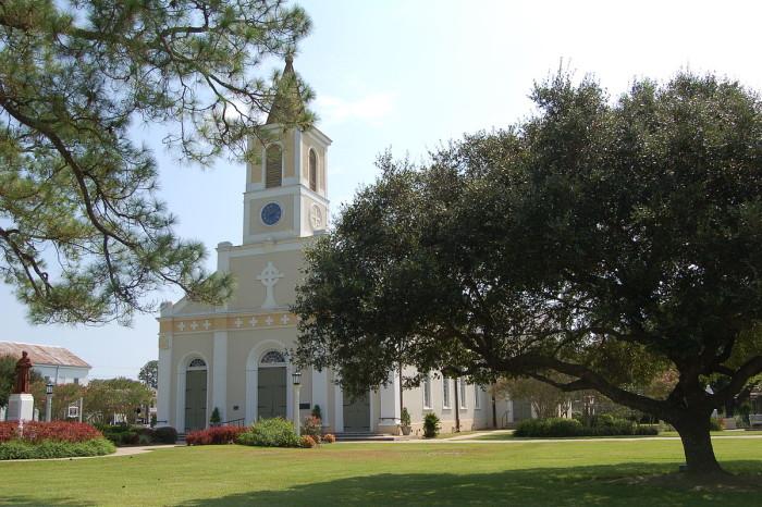 9) St. Martin of Tours Catholic Church, St. Martinville, LA