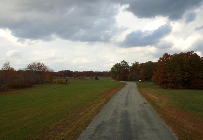 3) Farm roads, back roads