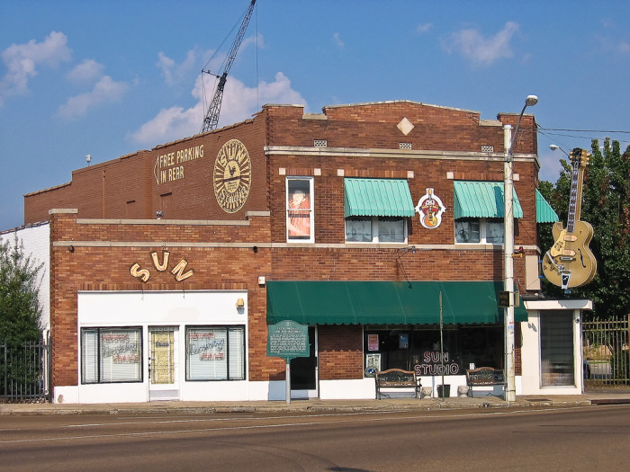 6) Sun Studio - Memphis