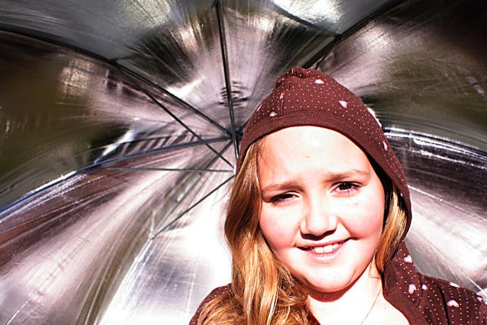 5) You use an umbrella just as often for the sun as you do for rain.