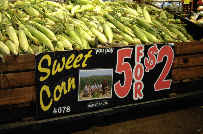 10. Sweet corn in the summer is better than dessert.