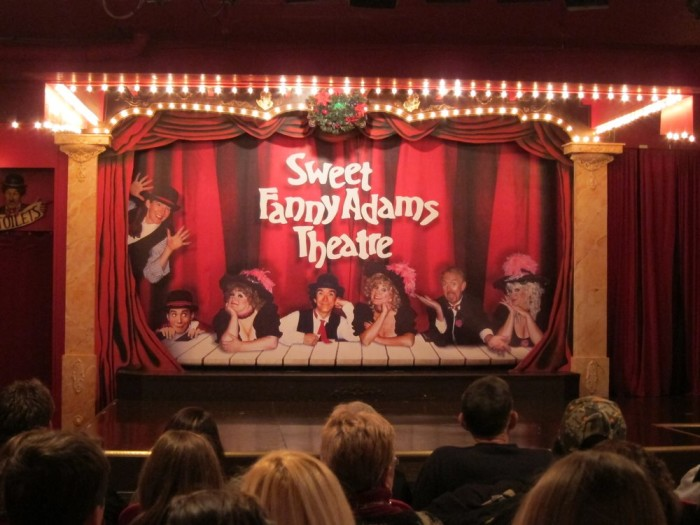 1) Sweet Fanny Adams is the oldest professional theater in East Tennessee, located in Gatlinburg
