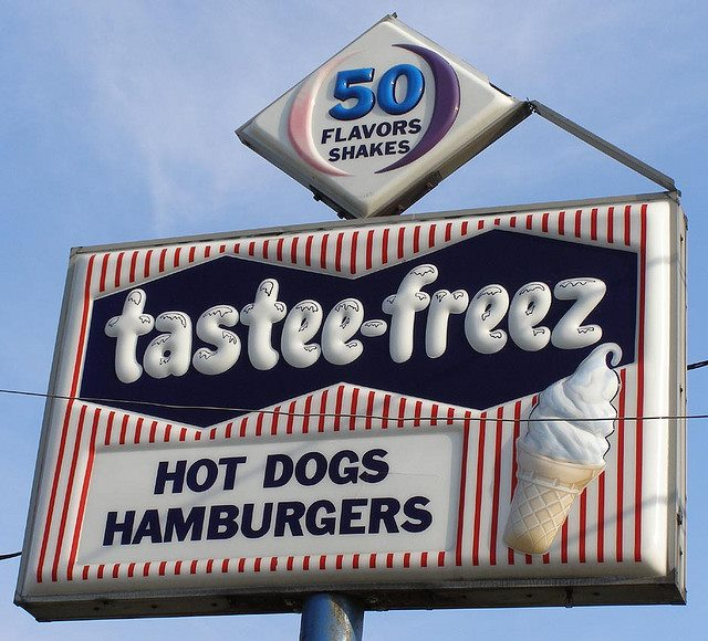 """5. Dairy Queen, Tastee Freeze and Friendly's were the """"it"""" spots for weekend hangouts."""