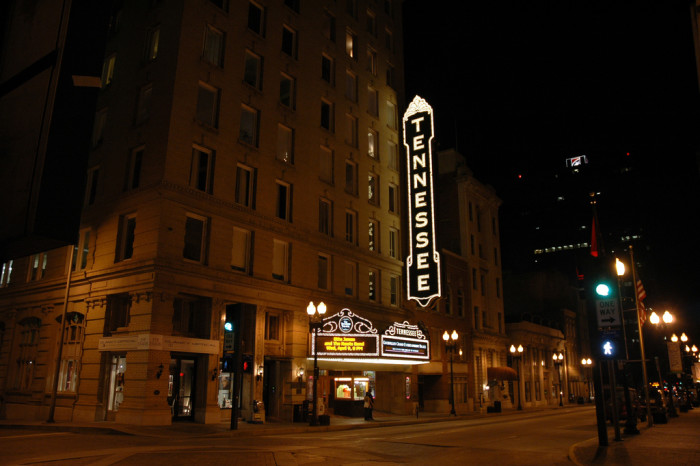 1) Tennessee Theatre - Knoxville