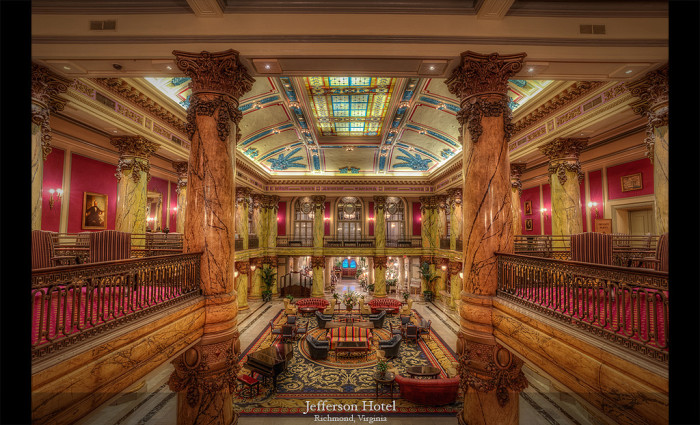 9. The Jefferson Hotel in Richmond was closed and vacant – but fortunately, not for long.