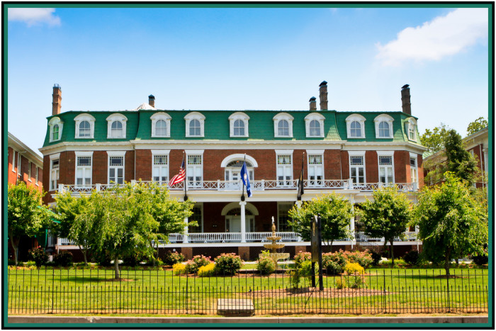10. The Martha Washington Inn, Abingdon