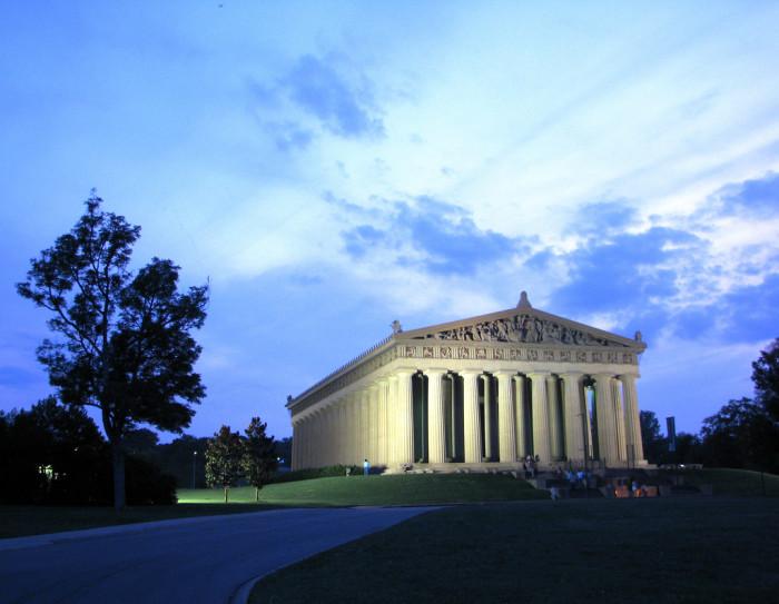 1) The Parthenon - Nashville