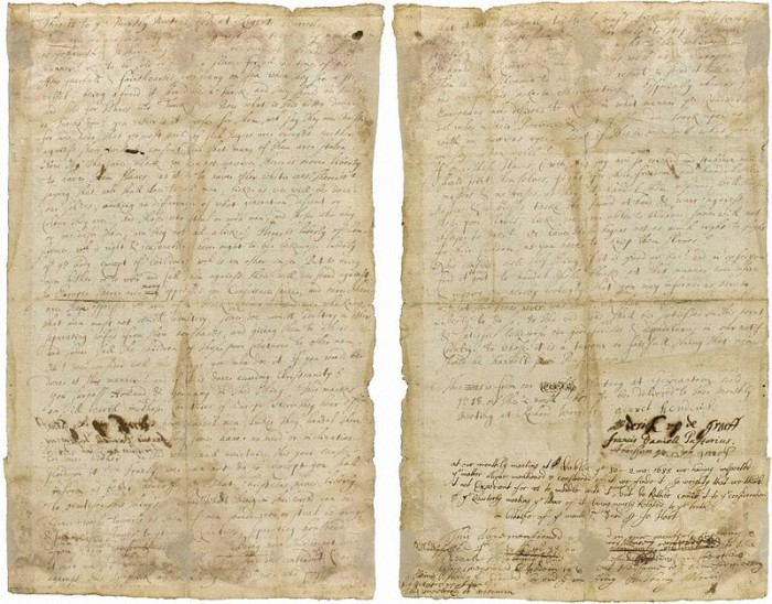 3. The country's first petition against slavery was made in Germantown in 1688.