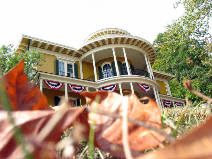 6. The Hillforest Mansion (Thomas Gaff House)