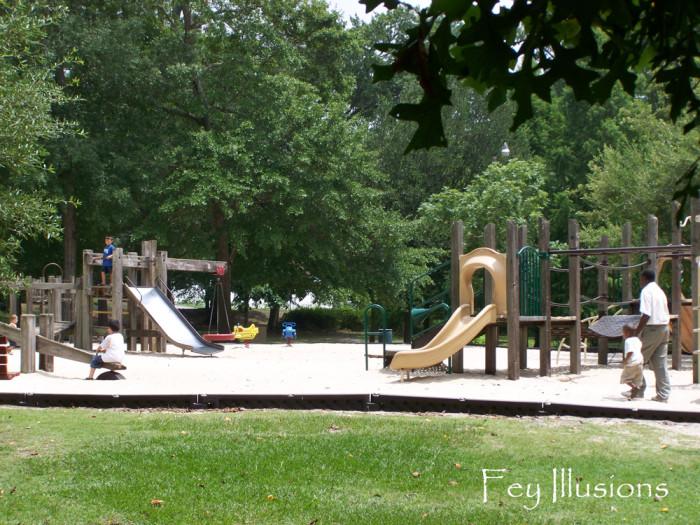 5. Timrod Park, Timrod Park Dr., Florence, SC