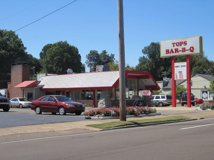 5) Top's Bar-B-Que - Memphis