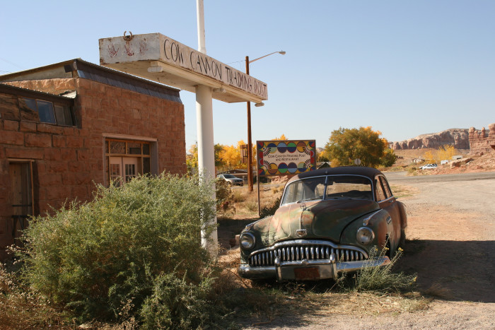 17) Cow Canyon Trading Post, Bluff