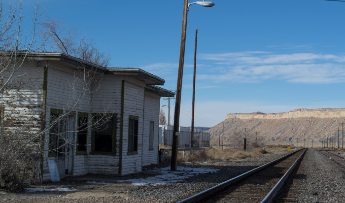 7) Train Station, Thompson Springs