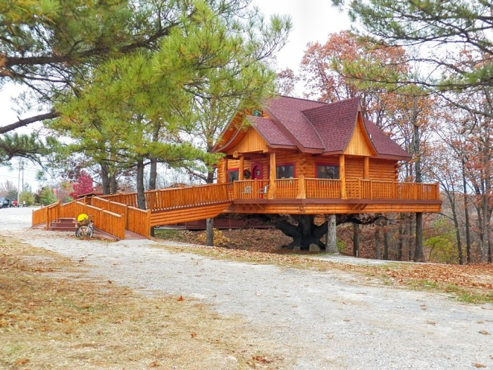 These 6 Tree Houses In Missouri Will Give You An