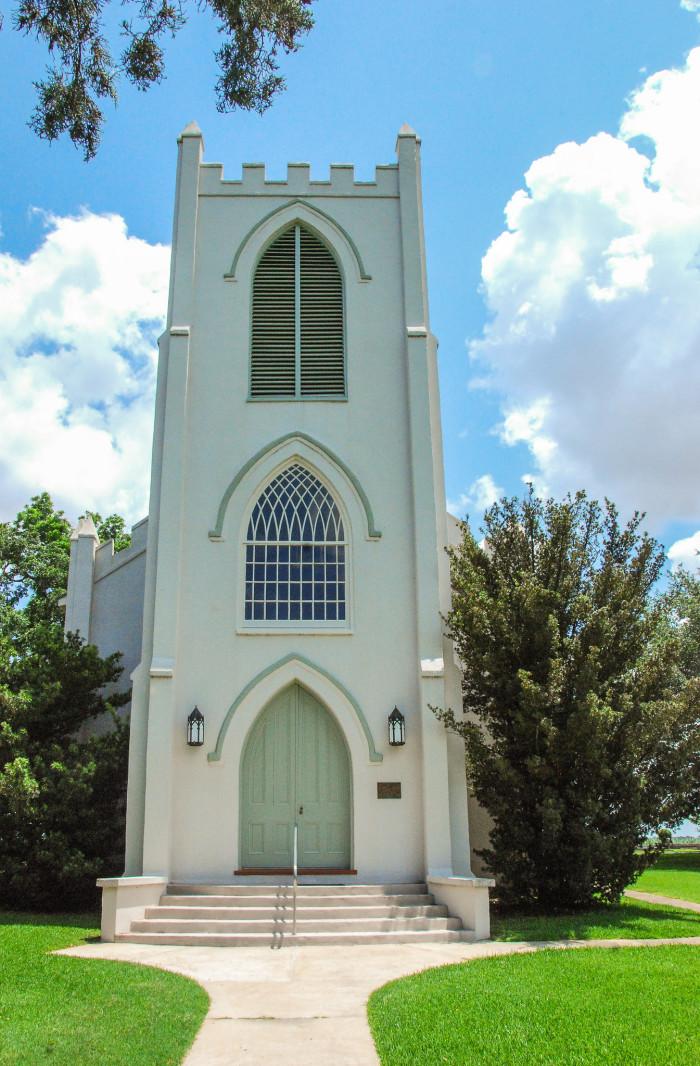4) Trinity Episcopal Church, Cheneyville, LA