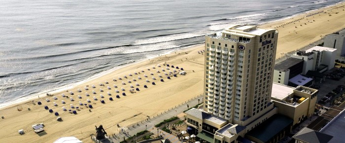 Where to stay: Hilton Virginia Beach Oceanfront