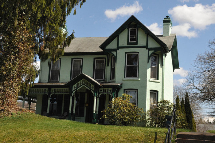 4. This historic house in Weston