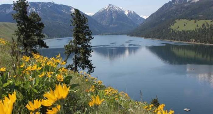 1) Wallowa Lake State Park