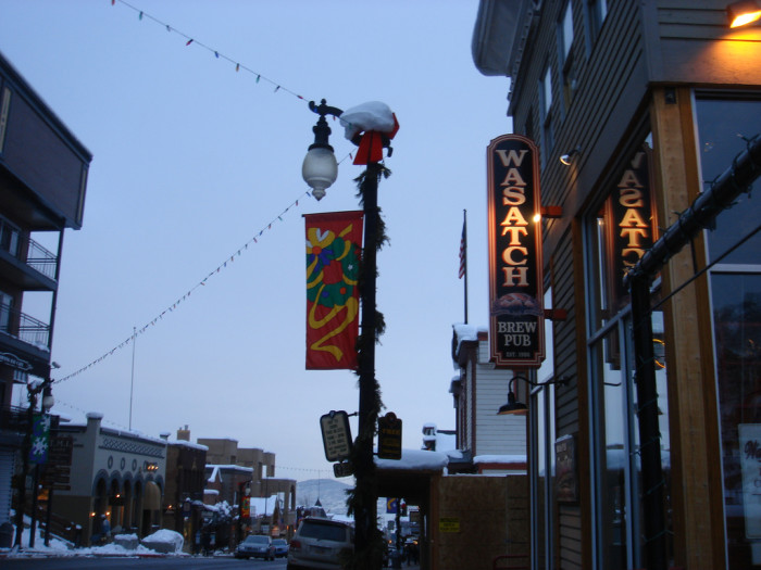 19) Wasatch Brew Pub, Sugarhouse and Park City