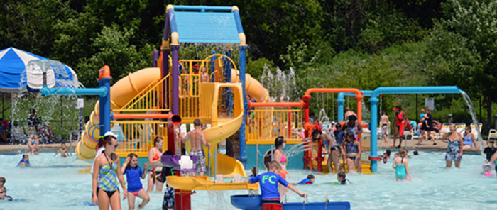 8. Battle Creek Waterworks in Ramsey is full of outdoor aquatic fun! Need to cool off?