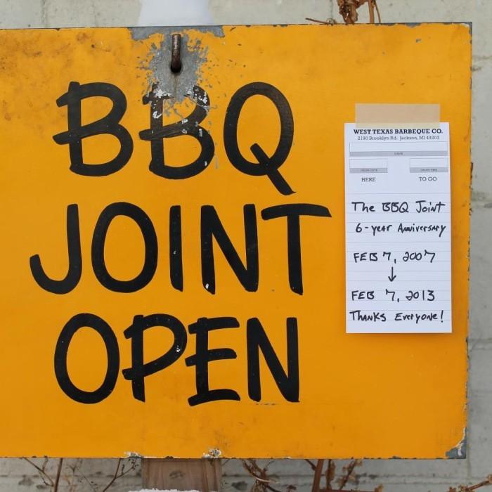 9) West Texas Barbeque Company, Jackson