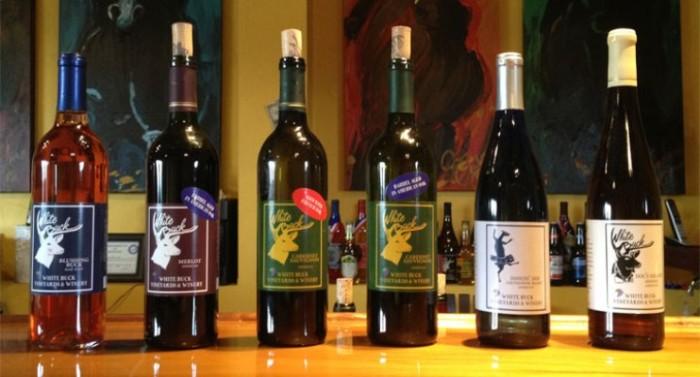 1. White Buck Vineyards and Winery