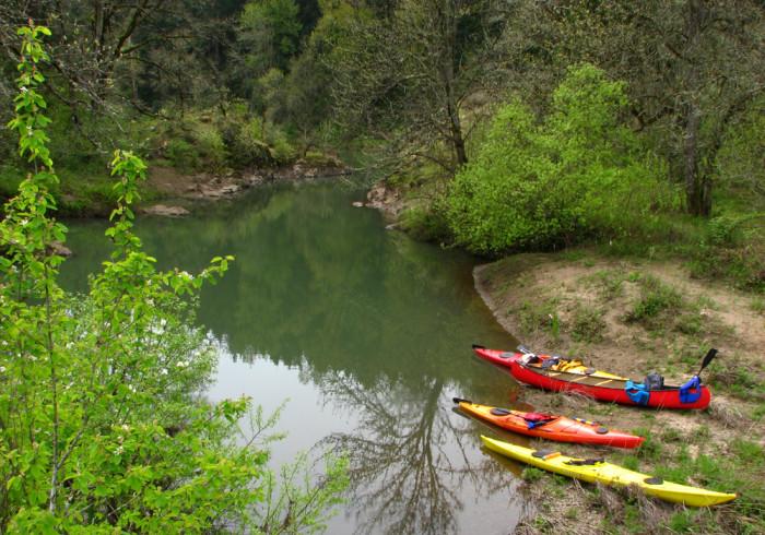 2) Willamette River Water Trail
