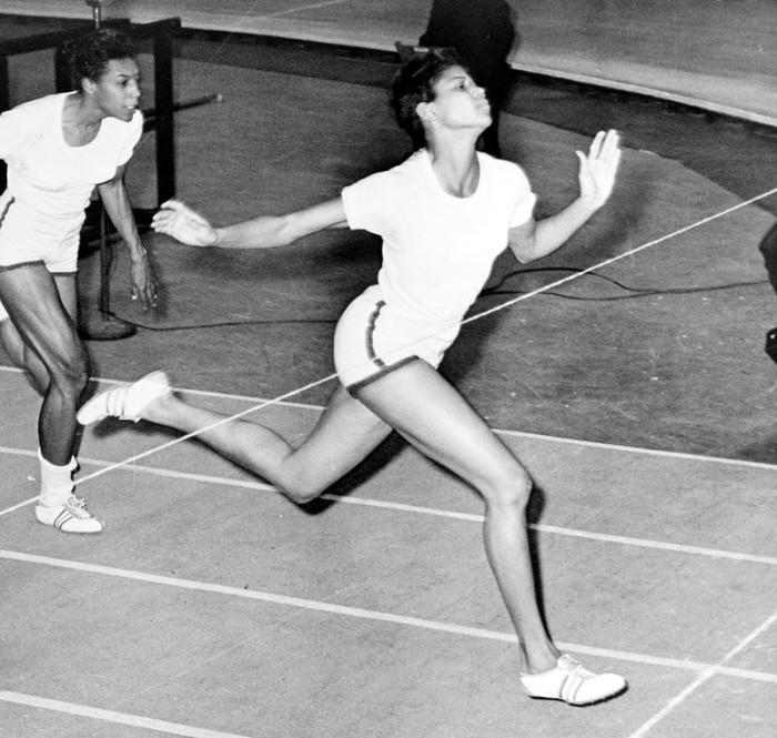 1) Wilma Rudolph