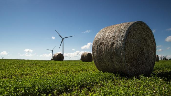 5) Windmill Farm in Mid Michigan