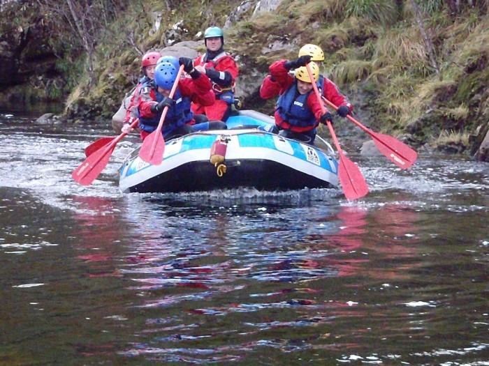 9. Go white water rafting