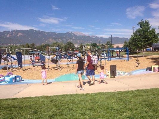 6.) America the Beautiful Park Playground (Colorado Springs)